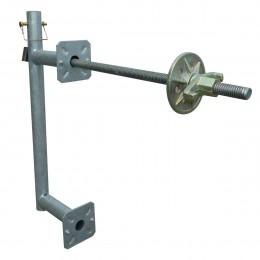 Support de base galvanisé pour protection plaquée
