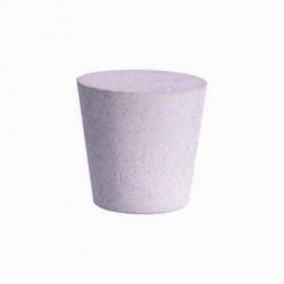 Bouchon béton conique étanche pour tube pvc