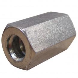 Ecrou 6 pans L 50 mm pour tige Ø17mm
