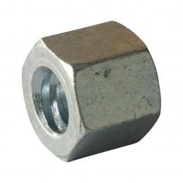 Ecrou 6 pans L 25 mm pour tige Ø17mm