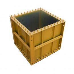 Panneau de coffrage métallique pour pilier 50/50 cm