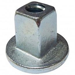 Ecrou carré monobloc pour tige Ø23mm
