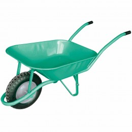 Brouette 85 L - Verte - roue gonflable