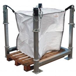 Poubelle de chantier - modèle Sécatri Basic