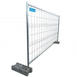 Clôture de chantier mobile grillagée 350 x 190 cm - cadre 4