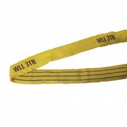 Elingue tubulaire 3T jaune - 6 m