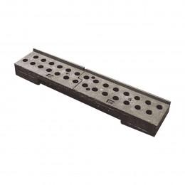 Rack de rangement PVC pour clôture mobile opaque