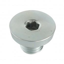 Elément central métallique pour fixation magnétique