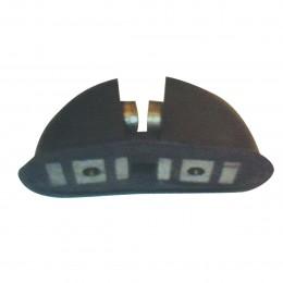 Réservation magnétique pour ancre plate