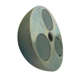 Réservation acier magnétique