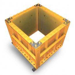Coffrage de poteaux béton - Cofrasud