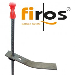 Système Firos pour pose des évacuations
