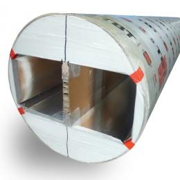 Tube de coffrage TBT avec joint de dilatation - Cofrasud