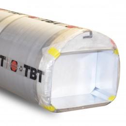 Tube de coffrage carton TBT à usage unique mitoyen