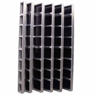 Banche manuportable aluminium renforcé 350 x 2700 mm