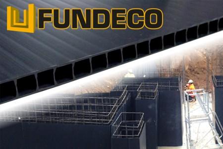 FUNDECO : Coffrage perdu pour fondation économique